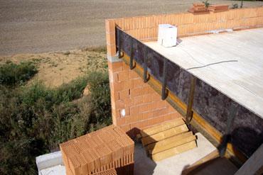 Dřevěná plochá střecha